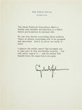 Autographs:U.S. Presidents, Lyndon B. Johnson Typed Quotation Signed....