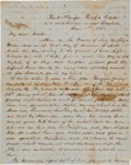 Autographs:Celebrities, [Travel Letter] and [California Gold Rush]. Voyage by Sea toCalifornia....