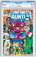Modern Age (1980-Present):Superhero, The Infinity Gauntlet #5 (Marvel, 1991) CGC NM/MT 9.8 Whitepages....