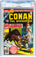Bronze Age (1970-1979):Adventure, Conan the Barbarian Annual #4 (Marvel, 1978) CGC NM/MT 9.8 White pages....
