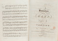 Books:Music & Sheet Music, Bound collection of musical scores, comprising:...