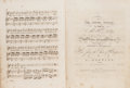 Books:Music & Sheet Music, Bound album of twenty-seven engraved musical scores, comprising:...