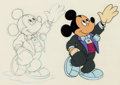 Animation Art:Production Cel, Mickey's 60th Birthday Special Mickey Mouse Production Cel(Walt Disney, 1988)....