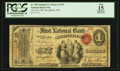 National Bank Notes:Missouri, Springfield, MO - $1 Original Fr. 382 The First NB Ch. # 1701. ...