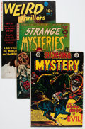 Golden Age (1938-1955):Horror, Comic Books - Assorted Golden Age Horror Comics Group (VariousPublishers, 1950s) Condition: Average VG-.... (Total: 9 ComicBooks)