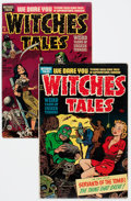 Golden Age (1938-1955):Horror, Witches Tales #6 and 8 Group (Harvey, 1951) Condition: AverageVG.... (Total: 2 Comic Books)
