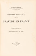Books:Fine Press & Book Arts, Francois Courboin. Histoire Illustrée De La Gravure enFrance. Paris: Maurice Le Garrec, 1923. First Edition. Fourv... (Total: 10 Items)