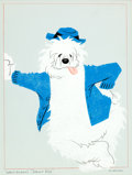 Animation Art:Production Drawing, The Shaggy Dog Illustration (Walt Disney, 1959)....