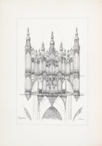 Arthur George Hill. The Organ-Cases and Organs of the Middle Ages and Renaissance. [