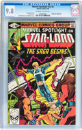 Modern Age (1980-Present):Superhero, Marvel Spotlight #6 Star-Lord (Marvel, 1980) CGC NM/MT 9.8Off-white to white pages....