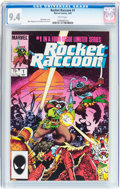 Modern Age (1980-Present):Humor, Rocket Raccoon #1 (Marvel, 1985) CGC NM 9.4 White pages....