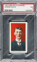 Baseball Cards:Singles (Pre-1930), 1910 E96 Philadelphia Caramel Connie Mack PSA NM 7....