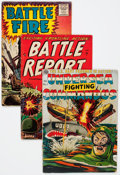 Golden Age (1938-1955):War, Comic Books - Assorted Golden Age War Comics Group (Various Publishers, 1950s) Condition: Average FR/GD.... (Total: 32 Comic Books)