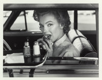 PHILIPPE HALSMAN (American, 1906-1979) Marilyn at the Drive-In, 1952 Gelatin silver, printed 1981