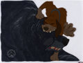 Animation Art:Production Cel, The Fox and the Hound Copper and Bear Production Cel Setup(Walt Disney, 1981)....