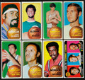 Basketball Cards:Lots, 1970-71 Topps Topps Basketball Collection (164)....
