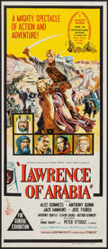 "Movie Posters:Academy Award Winners, Lawrence of Arabia (Columbia, 1962). Australian Daybill (13"" X30""). Academy Award Winners.. ..."