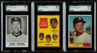 1960's Topps, Leaf, Post Baseball Collection (750)