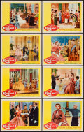 "Movie Posters:Musical, The King and I (20th Century Fox, R-1961). Lobby Card Set of 8 (11"" X 14""). Musical.. ... (Total: 8 Items)"