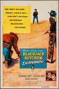 "Movie Posters:Western, Blackjack Ketchum, Desperado & Other Lot (Columbia, 1956). One Sheets (2) (27"" X 41""). Western.. ... (Total: 2 Items)"