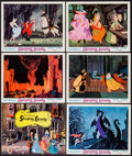 "Movie Posters:Animation, Sleeping Beauty (Buena Vista, R-1970). Title Lobby Card & Lobby Cards (5) (11"" X 14""). Animation.. ... (Total: 6 Items)"