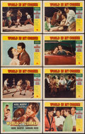 "Movie Posters:Sports, World in My Corner (Universal International, 1956). Lobby Card Set of 8 (11"" X 14""). Sports.. ... (Total: 8 Items)"