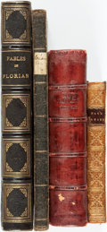 Books:Literature Pre-1900, [Fables]. Four Books on Fables.... (Total: 4 Items)