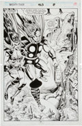 Original Comic Art:Splash Pages, Bruce Zick and Mike DeCarlo Thor #463 Page 10 Original Art(Marvel, 1993).. ...