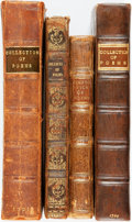 Books:Literature Pre-1900, [Poetry]. Four Early-Eighteenth-Century Books of Poetry.... (Total:4 Items)