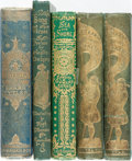 Books:Literature Pre-1900, Five Nineteenth-Century Fiction Books.... (Total: 5 Items)