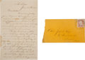 Autographs:Military Figures, [Colored Troops: Wild's African Brigade]. Union Soldier's Letter.... (Total: 2 Items)
