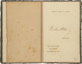 Autographs:U.S. Presidents, Woodrow Wilson Page Signed as President Bound with Signatures ofall State Governors (48)....