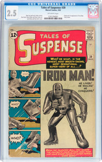 Tales of Suspense #39 (Marvel, 1963) CGC GD+ 2.5 Off-white pages