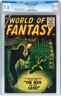 Silver Age (1956-1969):Horror, World of Fantasy #3 (Atlas, 1956) CGC FN/VF 7.0 Off-white pages....