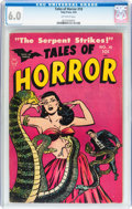 Golden Age (1938-1955):Horror, Tales of Horror #10 (Toby Publishing, 1954) CGC FN 6.0 Off-whitepages....