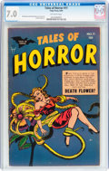 Golden Age (1938-1955):Horror, Tales of Horror #11 (Toby Publishing, 1954) CGC FN/VF 7.0 Off-whitepages....