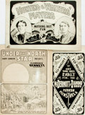 Books:Prints & Leaves, [Americana.] Group of Three Vaudeville Advertisements. [N.p.,n.d.].... (Total: 3 Items)