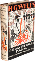 Books:World History, H. G. Wells. The Way the World Is Going. Guesses &Forecasts of the Years Ahead. London: Ernest Benn, [1928]....