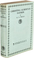 Books:Literature 1900-up, H. G. Wells. Christina Alberta's Father. London: JonathanCape, 1925....