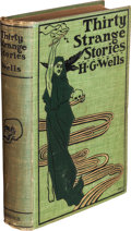 Books:Science Fiction & Fantasy, H. G. Wells. Thirty Strange Stories. New York: EdwardArnold, 1897. ...