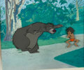 Animation Art:Production Cel, The Jungle Book Mowgli and Baloo Production Cel Setup (Walt Disney, 1967)....