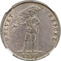 Switzerland:Helvetic Confederation, Switzerland: Helvetian Republic 40 Batzen 1798-B MS63 NGC,...