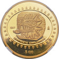 Mexico, Mexico: Republic gold Proof 100 Pesos 1997-Mo PR68 Ultra CameoNGC,...