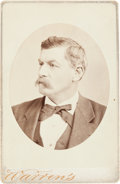 Photography:Cabinet Photos, George B. McClellan Cabinet Card...