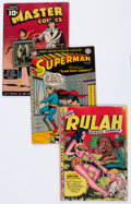 Golden Age (1938-1955):Miscellaneous, Comic Books - Assorted Golden Age Comics Group (Various Publishers, 1944-53).... (Total: 6 Comic Books)