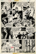 Original Comic Art:Panel Pages, George Tuska and Dave Hunt - Power Man #24, page 7 Original Art (Marvel, 1975)....
