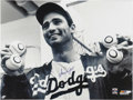 Autographs:Photos, 1980's Sandy Koufax Signed Massive Photograph. Absolutely the largest signed Koufax photo you'll ever encounter, boasting d...