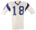 Football Collectibles:Uniforms, 1972 Roman Gabriel Game Jersey. Final season jersey from the Hall of Fame career of the Los Angeles Rams' celebrated snap t...