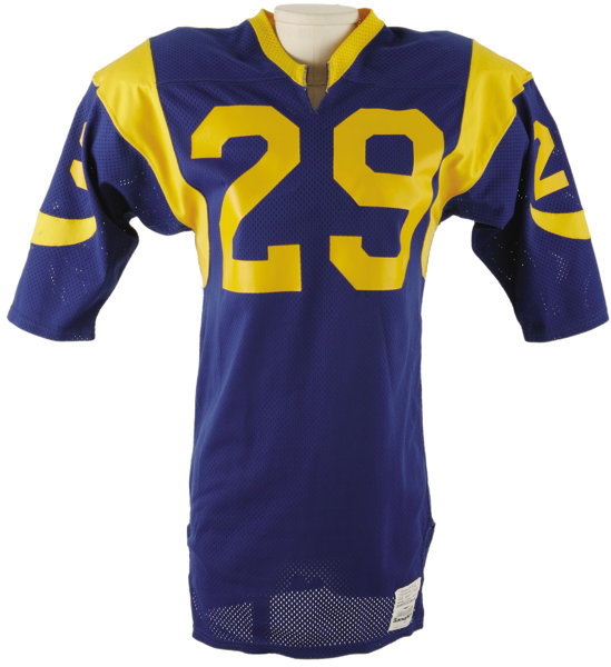 Mid-1980 s Eric Dickerson Game Worn Jersey. Early career gamer  69410db98