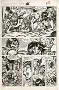 Original Comic Art:Panel Pages, Gary Kwapisz and Ernie Chan - Savage Sword of Conan #146, page 10 Original Art (Marvel, 1988).. . ...